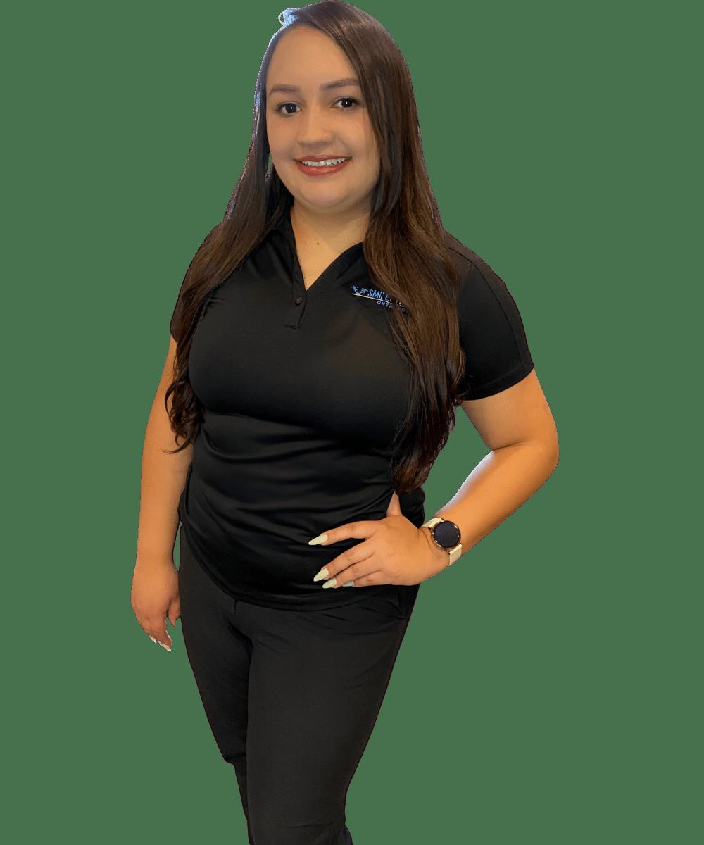 Nancy Martinez loves helping people start their orthodontic treatment