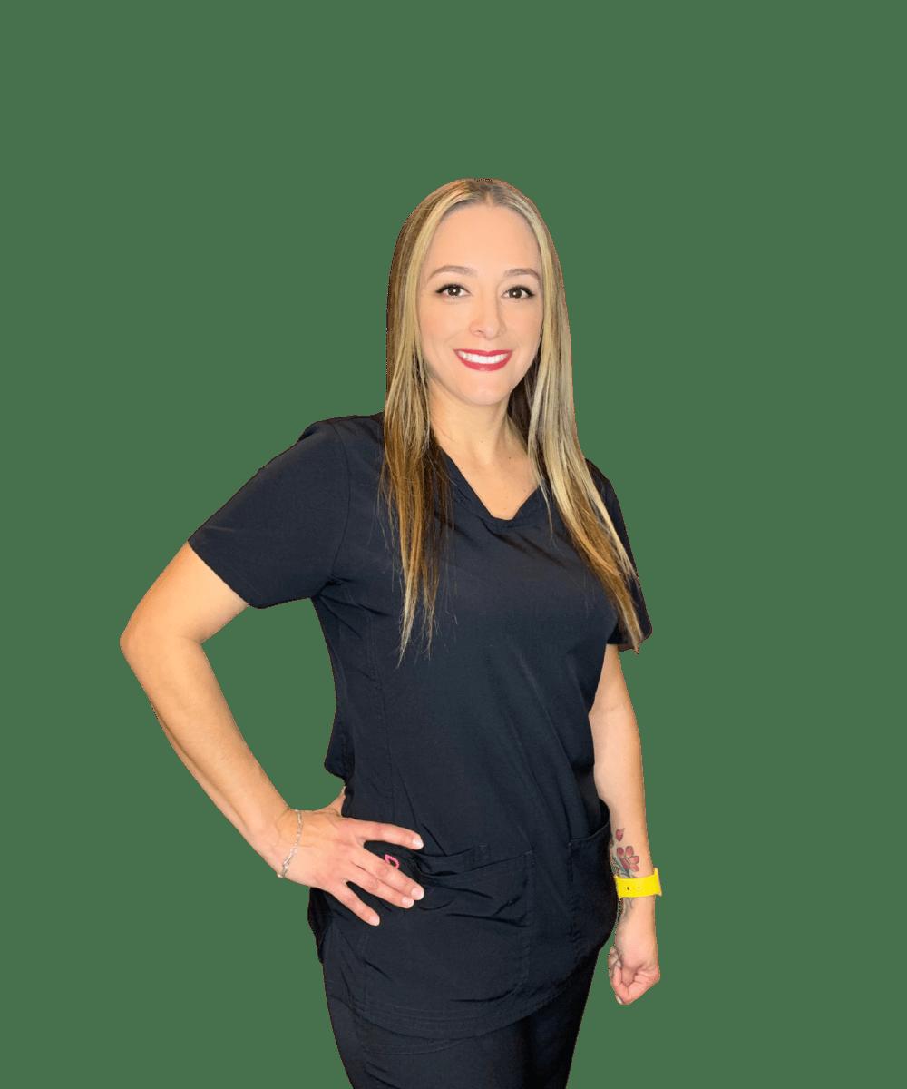 Naomi Rodriguez enjoys a patient's journey of a smile transormation